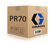 Graco LABEL, PR70, FIXED, RATIO [16P016]